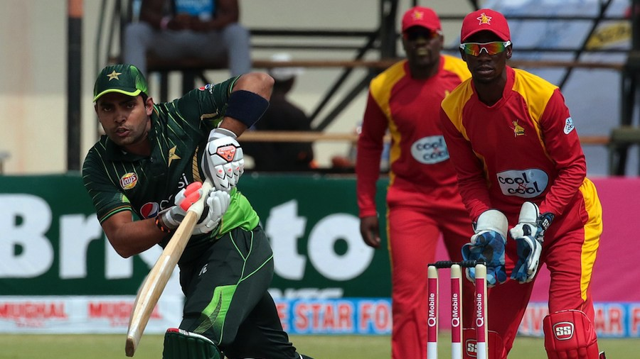Umar Akmal top scored for Pakistan with 38
