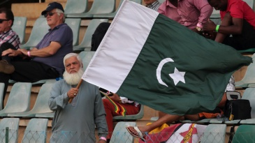 A Pakistan fan in Harare