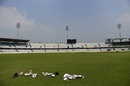 Training equipment on the outfield in Mirpur, September 30, 2015