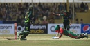 Fargana Hoque was stumped for 23, Pakistan v Bangladesh, 1st women's T20, Karachi, September 30, 2015
