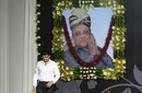 Sourav Ganguly pays tribute at a memorial for former BCCI president Jagmohan Dalmiya, Kolkata, September 30, 2015