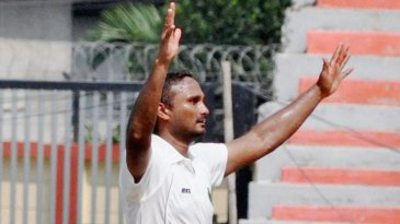 J Syed Mohammad took seven wickets