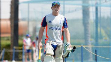 Jos Buttler takes part in England net practice