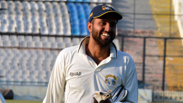 Gitansh Khera finished with 102 not out as Punjab piled up 604 for 5 declared