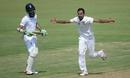 Zia-ul-Haq celebrates dismissing Moeen Ali, Pakistan A v England XI, Sharjah, 1st day, October 5, 2015