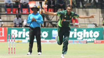 Bilal Asif claimed his maiden five-wicket haul