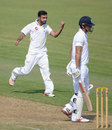 Zafar Gohar had Alastair Cook taken at leg slip, Pakistan A v England XI, Sharjah, 1st day, October 5, 2015