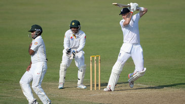Joe Root eased back into the grove with a half-century