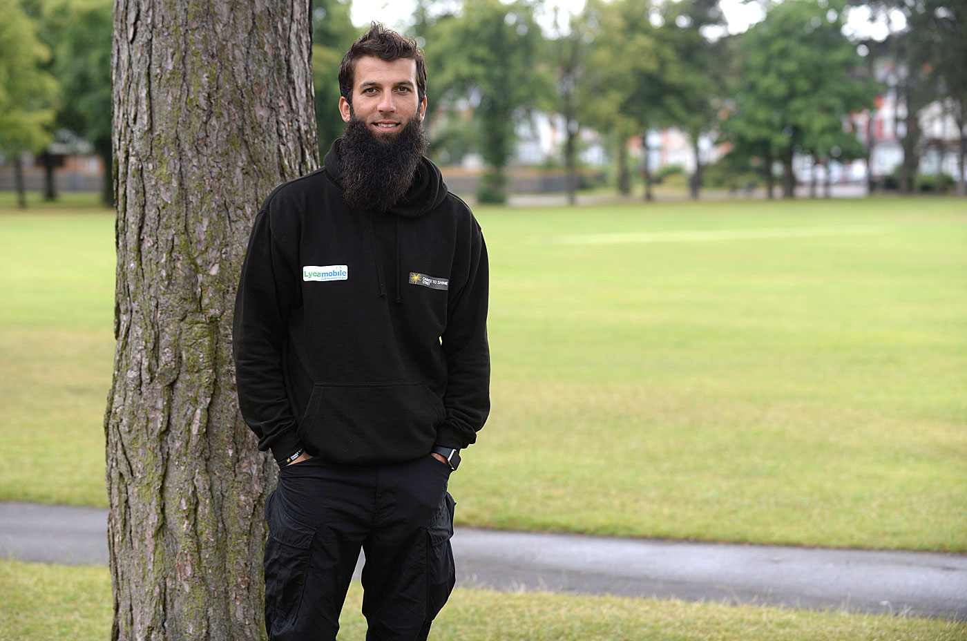 Moeen Ali at Sparkhill Park