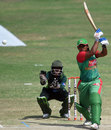 Ayasha Rahman top-scored for Bangladesh with a 56-ball 39, Pakistan Women v Bangladesh Women, 2nd ODI, Karachi, October 6, 2015