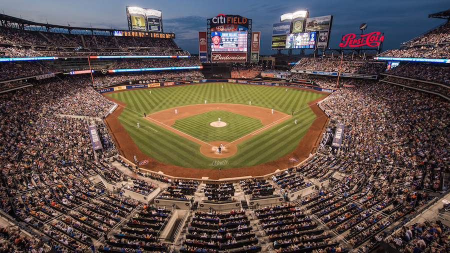 A general view of the Citi Field Stadium from the upper deck