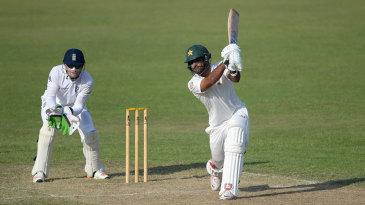 Iftikhar Ahmed made an unbeaten 92