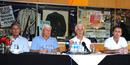 Majid Khan, Barry Richards, Mike Brearley and John Stephenson (from left) at the MCC World Cricket Committee media conference, Cape Town, January 10, 2012
