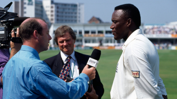 Devon Malcolm is interviewed by Simon Hughes