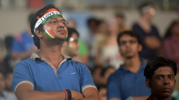Fans are disappointed after wet outfield resulted in the third T20I being abandoned at the Eden Gardens
