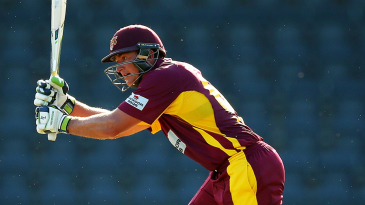 Peter Forrest top-scored for Queensland with 57 off 71 deliveries