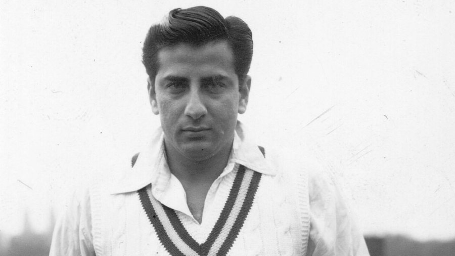 Fazal Mahmood in 1954