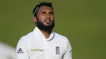 Adil Rashid had a taxing Test debut in Abu Dhabi