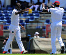 Kemar Roach broke the opening partnership, Sri Lanka v West Indies, 1st Test, Galle, 1st day, October 14, 2015