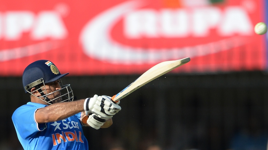MS Dhoni & spinners lift India to comeback win