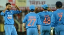 Axar Patel broke South Africa's opening stand, India v South Africa, 2nd ODI, Indore, October 14, 2015