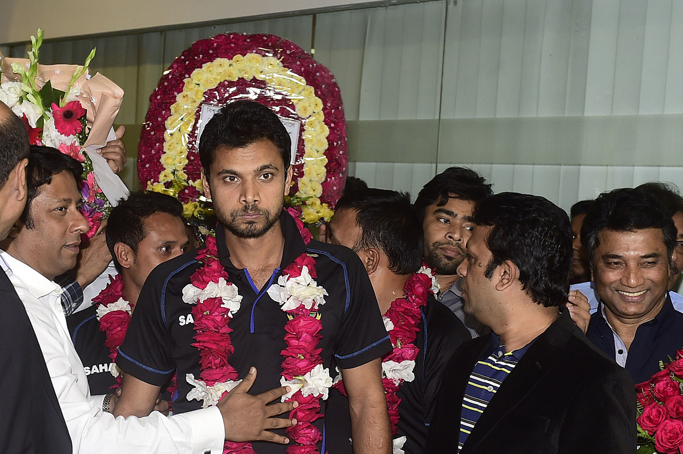 Thanks, but: Mashrafe thought the team's reception at home after the 2015 World Cup was a little over the top