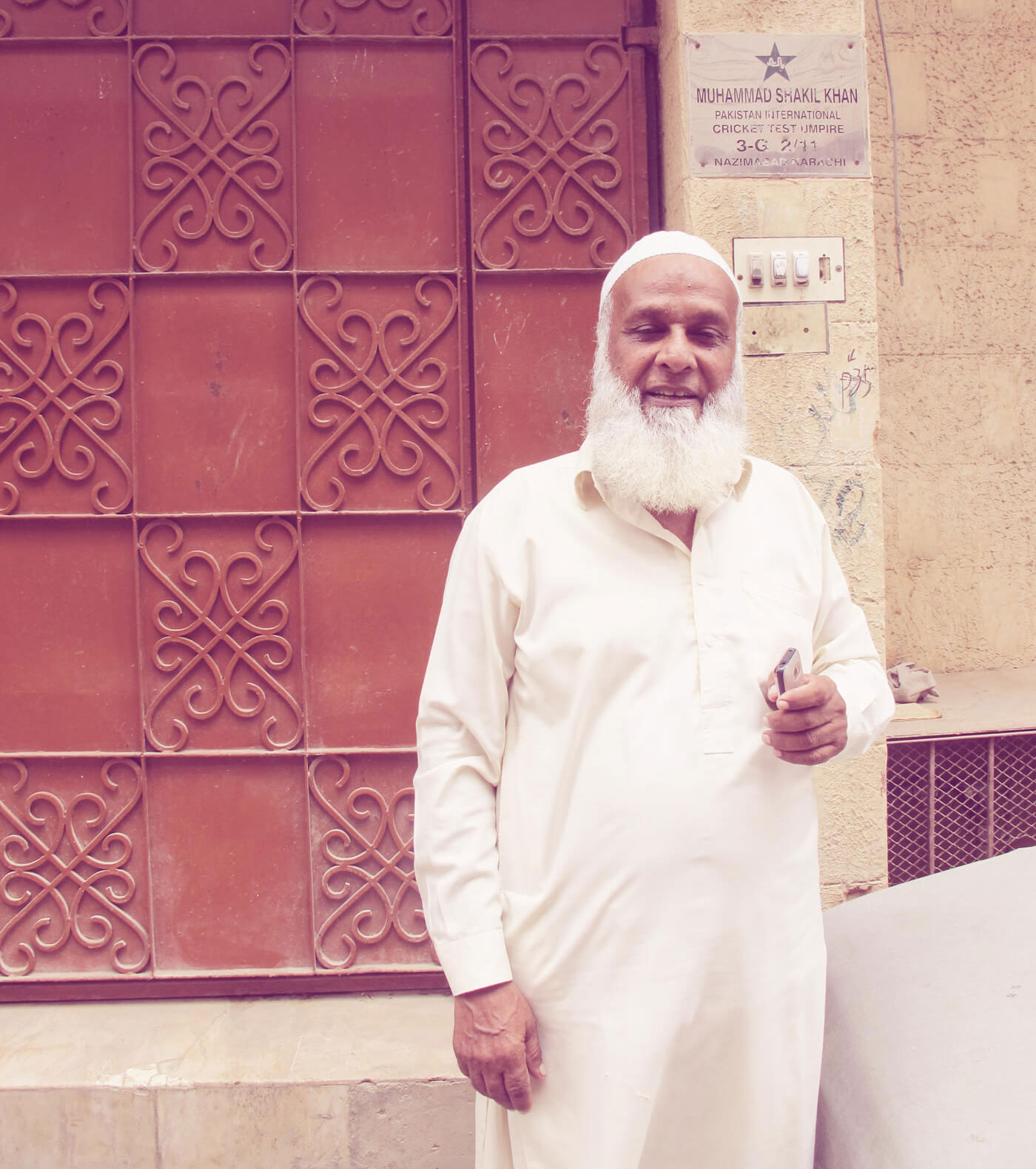 Former Pakistan umpire Shakeel Khan, a Nazimabad local, first saw a tape-ball game back in 1978