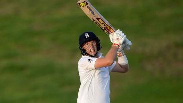 Joe Root took England within 25 runs of victory in Abu Dhabi