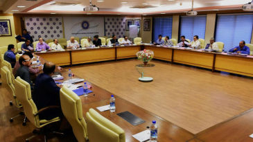 Members of the BCCI convene for the working committee meeting