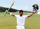 Shamim Hossain's 226 helped his team to a big total, BCB Under-17 v CAB Under-17, 3rd day, Cox's Bazar, October 18, 2015
