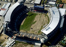 Lancaster Park, a year after being damaged by the earthquake in Christchurch, February 20, 2012