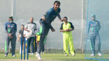 Bilal Asif joined the Pakistan squad ahead of the second Test