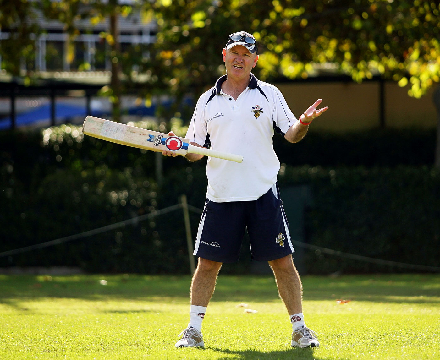 Former Victoria coach Greg Shipperd was happy to allow his players to experiment with their batting stances, coaching around it, rather than fighting it