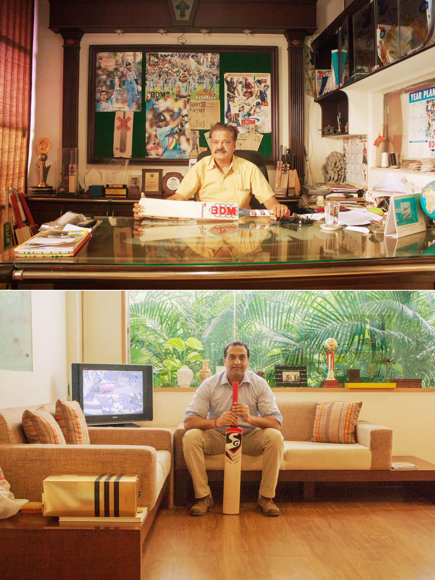 Rakesh Mahajan of BDM (top) and Paras Anand of SG
