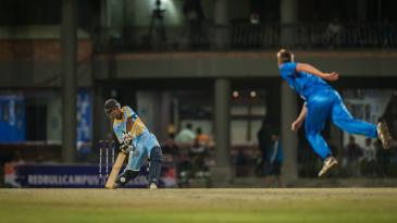 Delhi-based Shraddhanand College beat Loughborough Marylebone Cricket Club University England by six wickets