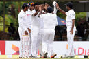 Dhammika Prasad bowled a probing spell on the second morning, Sri Lanka v West Indies, 2nd Test, Colombo, 2nd day, October 23, 2015