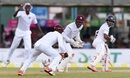 Kaushal Silva is caught at slip by Jermaine Blackwood, Sri Lanka v West Indies, 2nd Test, Colombo, 3rdday, October 24, 2015
