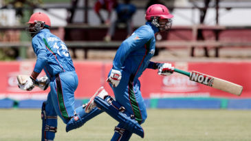 Mohammad Nabi and Noor Ali Zadran added 97 for the second wicket