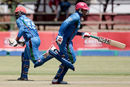 Mohammad Nabi and Noor Ali Zadran added 97 for the second wicket, Zimbabwe v Afghanistan, 5th ODI, Bulawayo, October 24, 2015