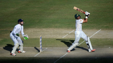 Misbah-ul-Haq passed fifty for the second time in the match