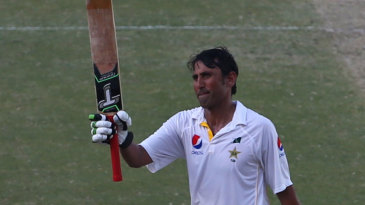 Younis Khan became the first Pakistani to make 9000 Test runs
