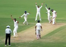 Aditya Sarwate appeals for a caught-behind, Vidarbha v Assam, Ranji Trophy 2015-16, Group A, Nagpur, 2nd day, October 23, 2015
