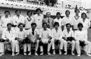 The Andhra Bank 1978-79 squad led by S Venkatraghavan (sitting, fourth from left). V Ramnarayan (standing, fourth from left)