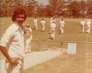 Indian offspinner V Ramnarayan in Sydney, 1977-78