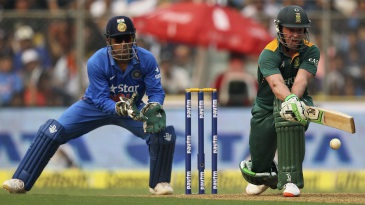 AB de Villiers unfurled some typically outrageous strokes