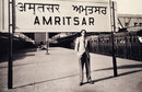 Sujit Mukherjee in Amritsar station