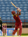 Deandra Dottin chipped in with two wickets and a brisk 38 not out, West Indies v Pakistan, 1st women's T20, Grenada, October 29, 2015