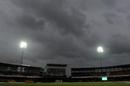 Dark clouds gather over the R Premadasa Stadium, Sri Lanka v West Indies, 1st ODI, Colombo, November 1, 2015