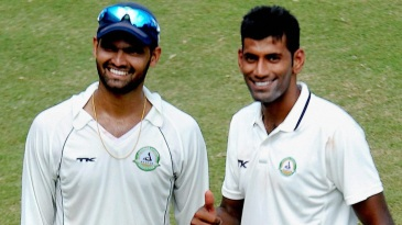 Aditya Sarwate and Akshay Wakhare shared 10 wickets between them