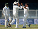 Yasir Shah bowled Samit Patel with a perfect legbreak after lunch, Pakistan v England, 3rd Test, Sharjah, 3rd day, November 3, 2015